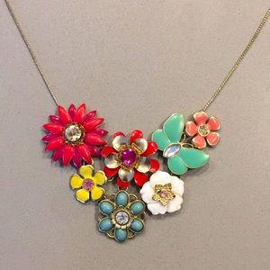 2/$15 Princess Length Floral Necklace